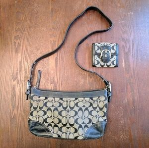 NWT New Coach Wallet Used Coach Purse Authentic